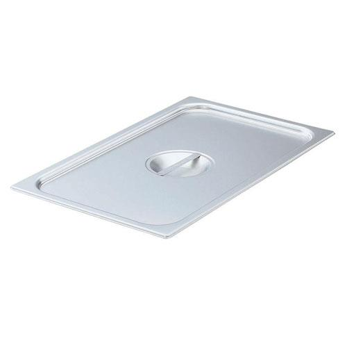 Vollrath 75050 Super Pan V® Steam Table Pan Cover 1/2 Size Long Flat Solid 20 15/16