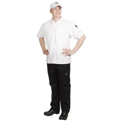 Short Sleeve Cook Shirt, Small