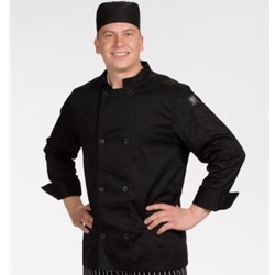 Chef's Black Pill Box Hat, Regular, X-Large
