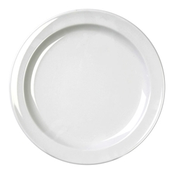 White plate, 9