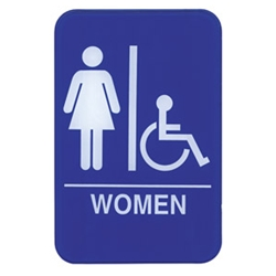 Sign,Women Accessible