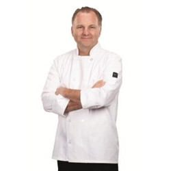 White Chef's Coat, X-Large