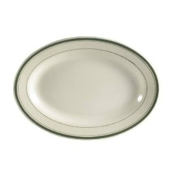 CAC China GS-12 Green Band Platter, 10-1/2