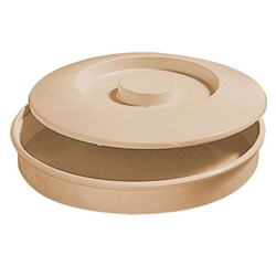 Tan Tortilla Holder With Lid