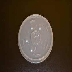 SEP 021-027 Lid for 12 oz, 16 oz & 20 oz. Styrofoam Cups (10 Packs Per Case/100 Per Pack)