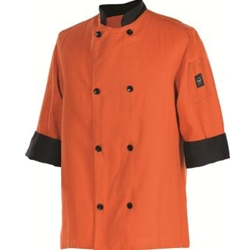 Chef's Jacket, 3/4 Sleeves, Large