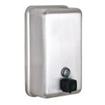 Alpine 423-SSB Soap Dispenser Manual 40 oz. Wall Mount Stainless Steel