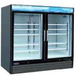 Entree EGD-2DR-48 Black 2 Door Merchandiser 48 cu. ft.