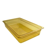 Amber Food Pan, Full Size X 4\