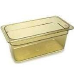 Cambro 36HP150 Amber Food Pan 1/3 X 6\