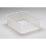 Translucent Food Pan, 1/2 X 4\
