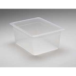 Translucent Food Pan, 1/2 X 6\