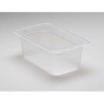 Translucent Food Pan, 1/4 X 4\