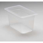 Translucent Food Pan, 1/4 X 6\
