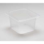 Translucent Food Pan, 1/9 X 4\