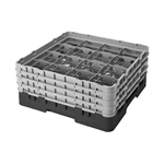 Glass Rack, 16 Compartment, 9-1/2\