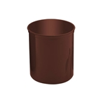 Crock w/ Cover, 1.2 qt., Brown