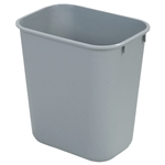Trash Can Office Gray 44 Qt