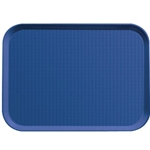 Royal Blue Fast Food Tray, 14\