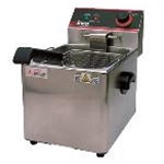 Winco EFS-16 16 lb. Countertop Fryer Single Pot 120v