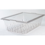 Clear Colander Food Pan, Fits 18\