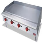 Entree GR48T - Countertop Griddle Natural Gas  (48\