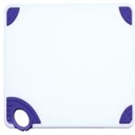 Winco CBN-1218PP Cutting Board with Hook, Purple