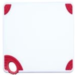 Winco CBN-1218RD Cutting Board with Hook, Red