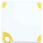 Winco CBN-1218YL Cutting Board with Hook, Yellow
