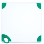 Winco CBN-1218GR Cutting Board with Hook, Green
