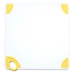 Winco CBN-1520YL Cutting Board with Hook, Yellow