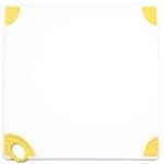 Winco CBN-1824YL Cutting Board with Hook, Yellow